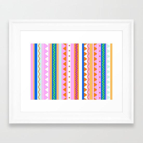 PLAYFUL -ORENDA- Framed Art Print