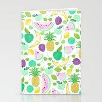 Fruit Punch Retro 2 Stationery Cards