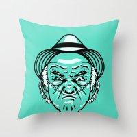 Tio Salamanca Throw Pillow