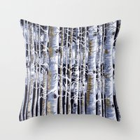 Birch Slap Throw Pillow