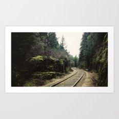 E&N Railroad [16:9] Art Print