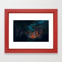 The Weary Traveller Rest… Framed Art Print