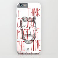 iPhone & iPod Case featuring I think of you by Villaraco
