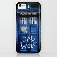 Tardis Doctor Who With B… iPhone 5c Slim Case