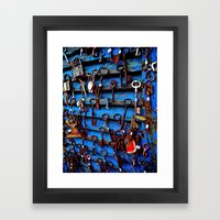 Unlock Me Framed Art Print