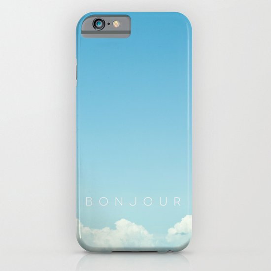 Bonjour iPhone & iPod Case