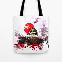 Japan Hirosaki Castle Tote Bag