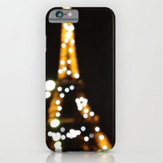 The lights of the eiffel tower iPhone 6 Slim Case
