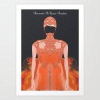 Alexander McQueen Aesthe… Art Print