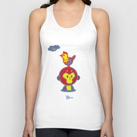 The Monkey and The Rooster  Unisex Tank Top