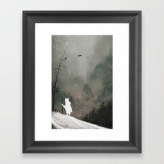 Buka - God of Winter Framed Art Print