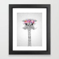 FLOWER GIRL II  Framed Art Print