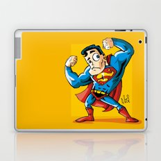 Strong man in Costume Laptop & iPad Skin