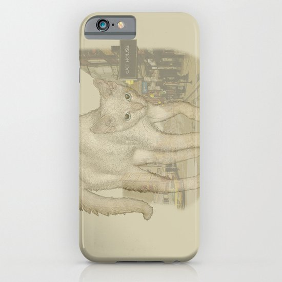 Ghost Kitty iPhone & iPod Case