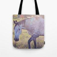 Star Horse Tote Bag