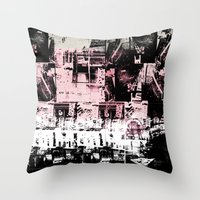 Concrete Jungle 1 Throw Pillow