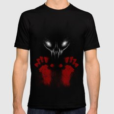 Bloody Hands Black Mens Fitted Tee SMALL