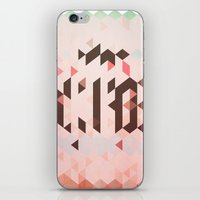 Triangel and Texture Design iPhone & iPod Skin