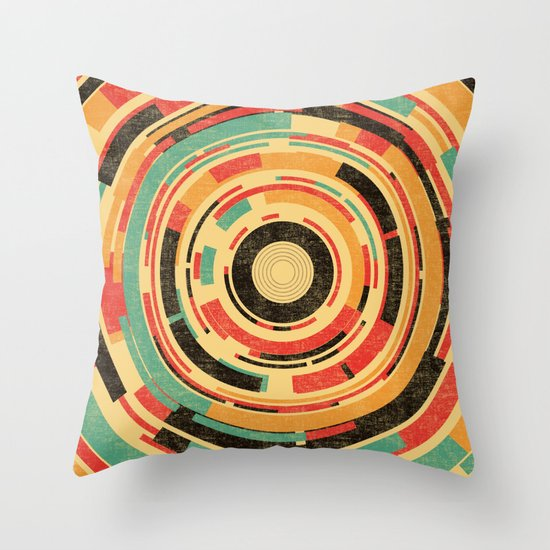 Space Odyssey Throw Pillow