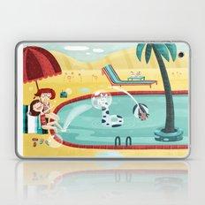 SUMMER MEMORIES WITH MY BEST FRIEND Laptop & iPad Skin