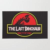 The Last Dinosaur Rug