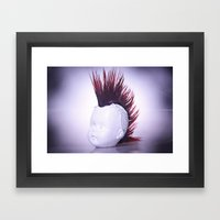 Rebelious Young Person Framed Art Print
