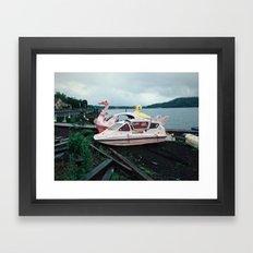 Lake Yamanaka Framed Art Print