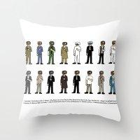 Woody Allen's Throw Pillow