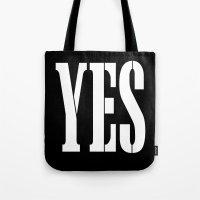 YES Tote Bag