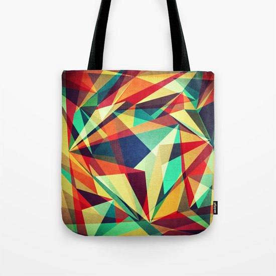 Broken Rainbow Tote Bag