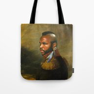 Mr. T - Replaceface Tote Bag