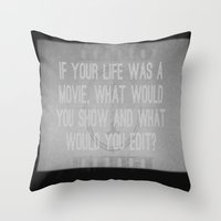Movie Throw Pillow