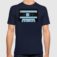 Love Tape Mens Fitted Tee Navy SMALL