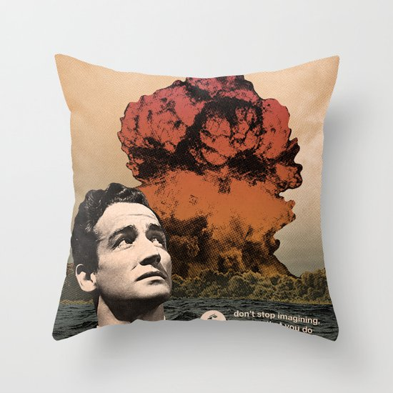 Thought Process Throw Pillow