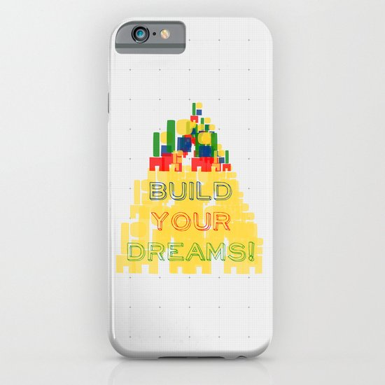 Build your dreams! iPhone & iPod Case