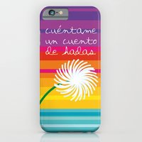 iPhone & iPod Case featuring Cuéntame un cuento by Golosinavisual