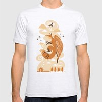 The Flying Fox's First F… Mens Fitted Tee Ash Grey SMALL