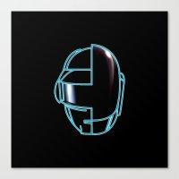 Daft Punk Canvas Print