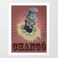 PAPA CHANGO Art Print