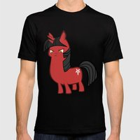 My Small Sized Satanic D… Mens Fitted Tee Black SMALL