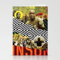 BRING THE PAIN: JACK JOHNSON Stationery Cards
