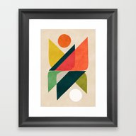 Reflection (of Time And … Framed Art Print