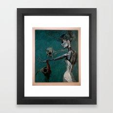 strange women Framed Art Print