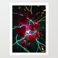 Hearts Are Meant To Brea… Art Print