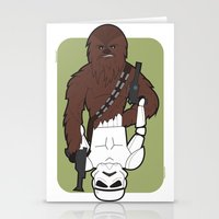 Chewbacca E Stormtrooper Stationery Cards