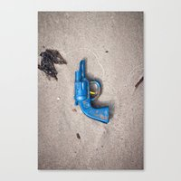 Dead Horse Gun Canvas Print