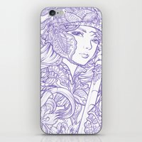 Iris Knight Lines iPhone & iPod Skin