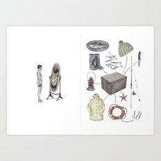 The Fisherman's Son Art Print