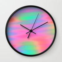 Oh So Pretty! Wall Clock