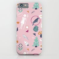 iPhone & iPod Case featuring Folk Cuckoo by mrs eliot books